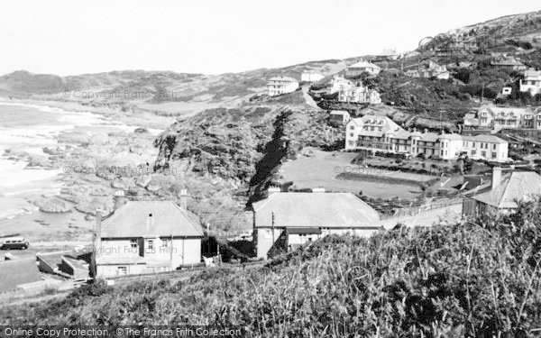 Photo of Woolacombe, Morte Point c.1960