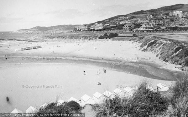 Photo of Woolacombe, Sands 1935