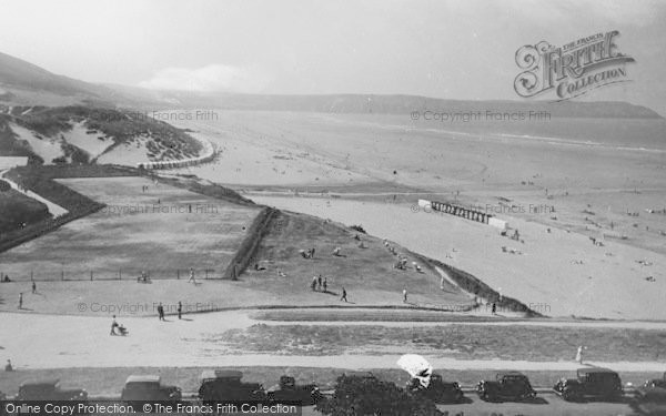 Photo of Woolacombe, Sands 1935
