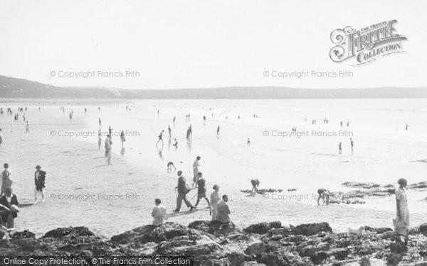 Photo of Woolacombe, Sands 1936