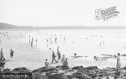 Woolacombe, Sands 1936
