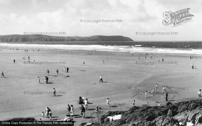 Photo of Woolacombe, Sands And Baggy Point c.1965