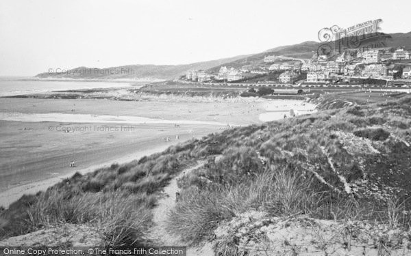 Photo of Woolacombe, Sands And Morte Point 1936