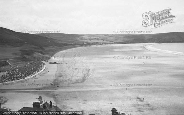 Photo of Woolacombe, Sands c.1950