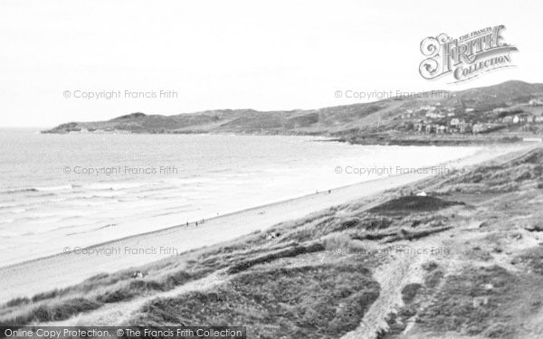Photo of Woolacombe, The Bay c.1955