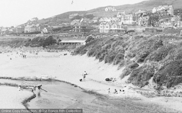 Photo of Woolacombe, The Beach c.1955