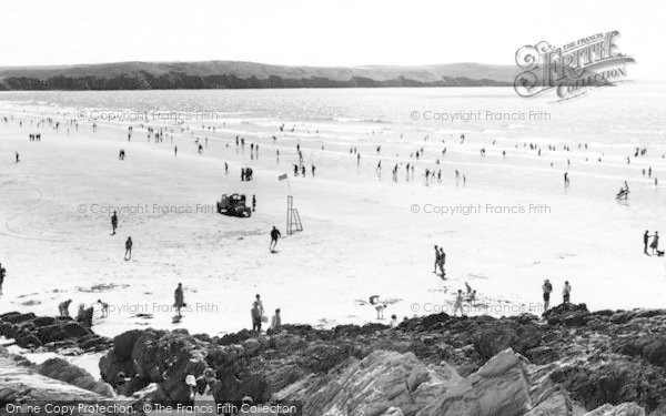 Photo of Woolacombe, The Beach c.1965