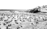 Woolacombe, the Beach c1965