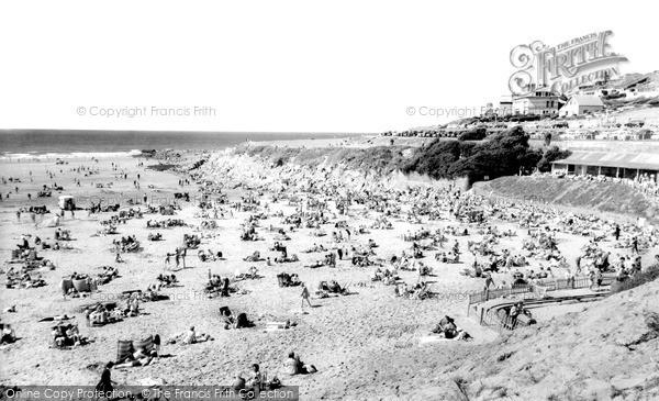 Photo of Woolacombe, the Beach c1965