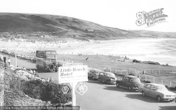 Photo of Woolacombe, The Beach From The Hotel c.1965