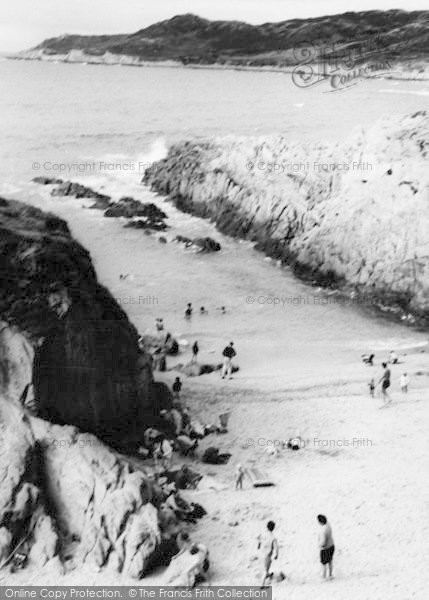 Photo of Woolacombe, The Creek c.1965
