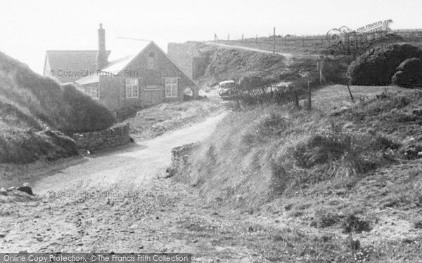 Photo of Woolacombe, The Gap c.1950