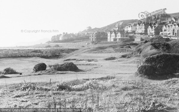 Photo of Woolacombe, The Miniature Golf Links c.1950