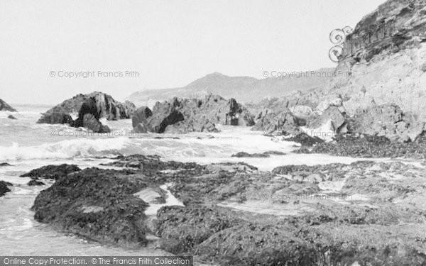 Photo of Woolacombe, The Rocks c.1950
