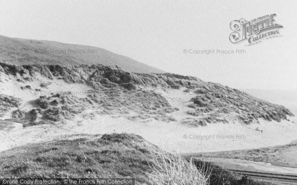Photo of Woolacombe, The Sandhills c.1950