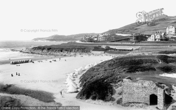 Photo of Woolacombe, The Sands 1906