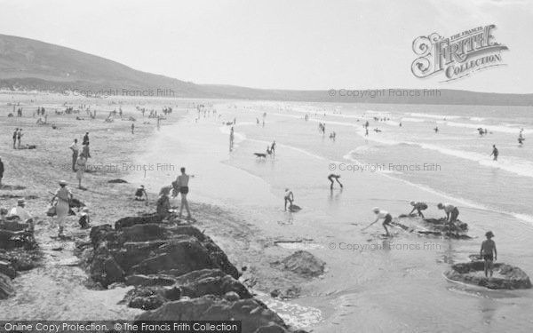Photo of Woolacombe, The Sands 1935
