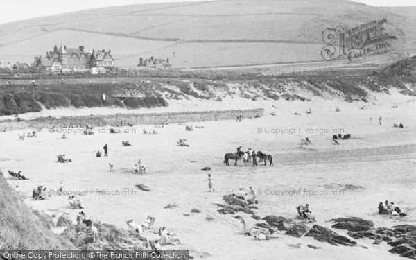 Photo of Woolacombe, The Sands c.1950