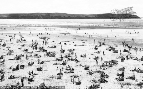 Photo of Woolacombe, The Sands c.1965