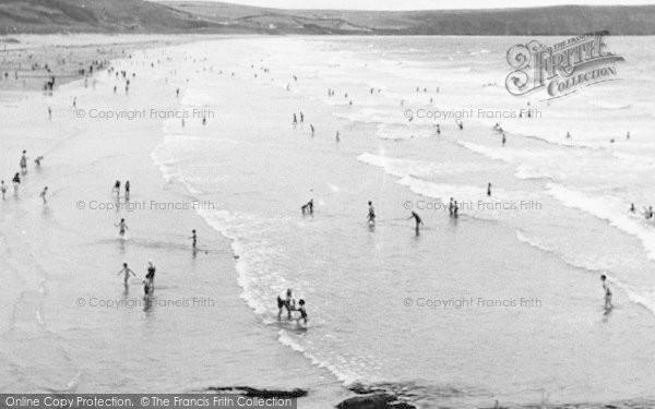 Photo of Woolacombe, The Surf c.1955