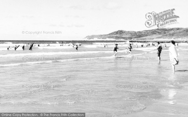 Photo of Woolacombe, The Surf c.1965