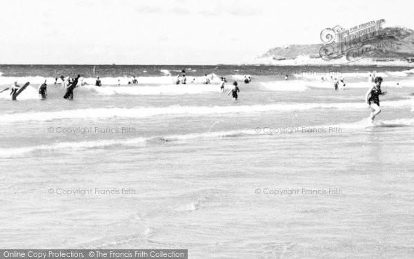 Photo of Woolacombe, The Surf c.1965