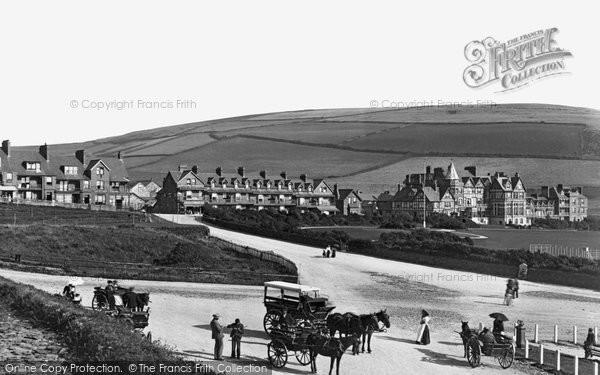 Photo of Woolacombe, the Village 1899, ref. 43130