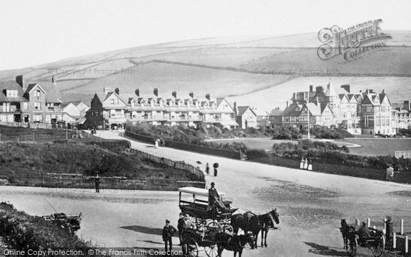 Photo of Woolacombe, The Village 1899
