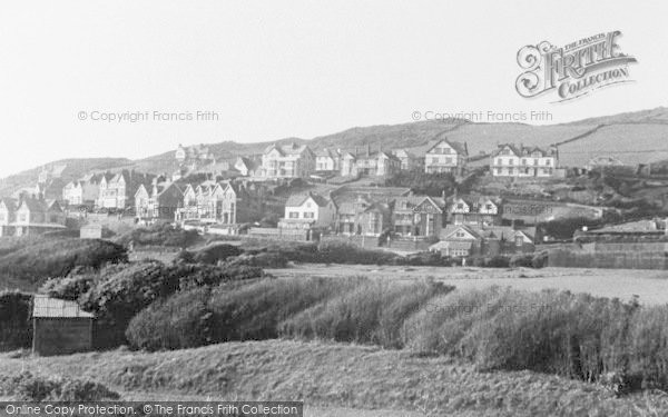 Photo of Woolacombe, View From Car Park c.1950