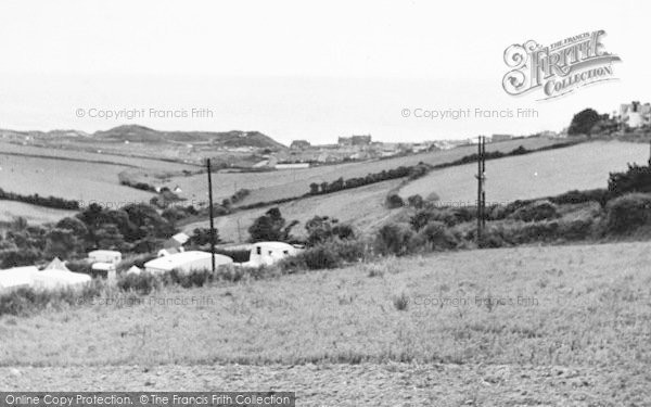 Photo of Woolacombe, View From Ilfracombe Road c.1955