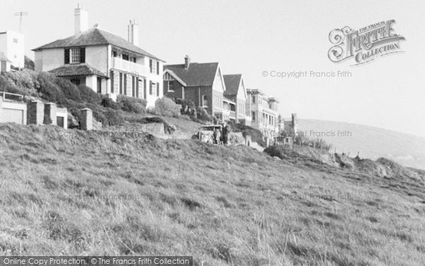 Photo of Woolacombe, View From North Cliffs c.1950