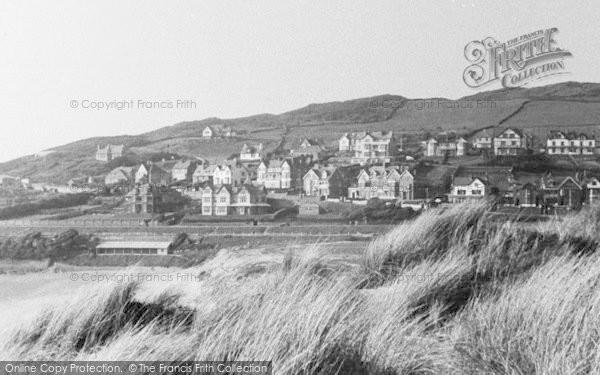 Photo of Woolacombe, View From Sandhills c.1950