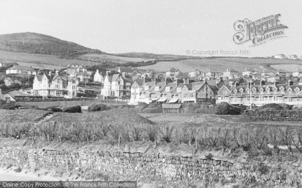 Photo of Woolacombe, View From Sandhills c.1950