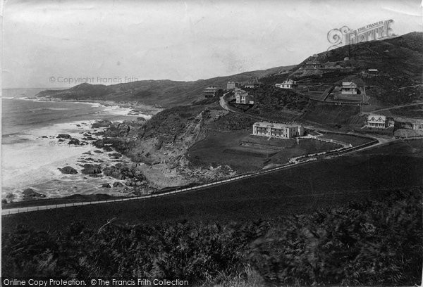 Photo of Woolacombe, Watersmeet And Castle Park 1911