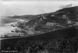 Watersmeet And Castle Park 1911, Woolacombe