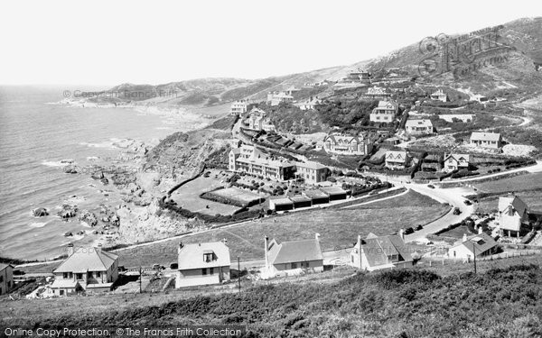 Photo of Woolacombe, Watersmeet And Morte Point 1935