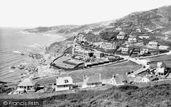 Watersmeet And Morte Point 1935, Woolacombe