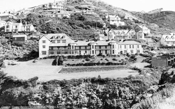 Photo of Woolacombe, Watersmeet Hotel c.1965