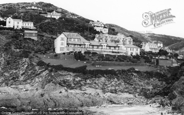 Photo of Woolacombe, Watersmeet Hotel c.1965