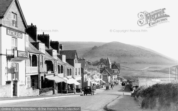 Photo of Woolacombe, West Road c.1950