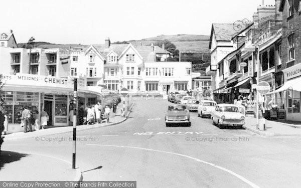Photo of Woolacombe, West Road c.1965