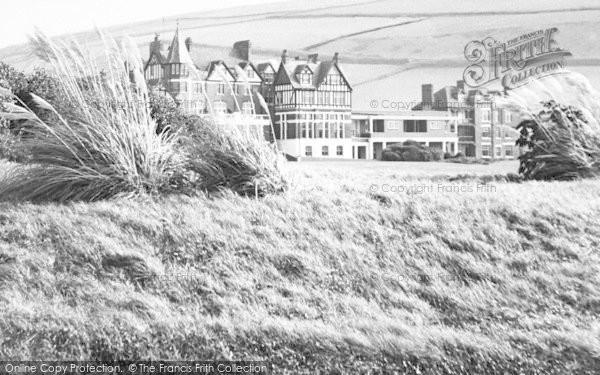 Photo of Woolacombe, Woolacombe Bay Hotel c.1955