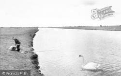 Bridge, Huntspill River c.1960, Woolavington