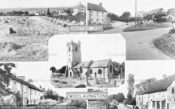 Photo of Woolavington, Composite c.1955