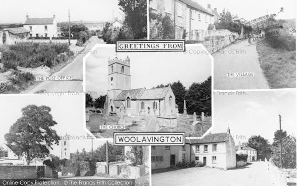Photo of Woolavington, Composite c.1960
