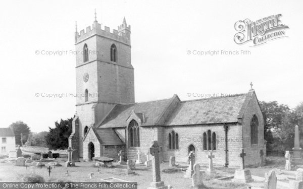 Photo of Woolavington, The Church c.1955
