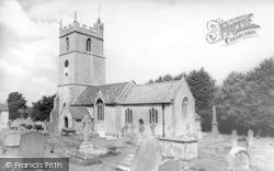The Church c.1955, Woolavington