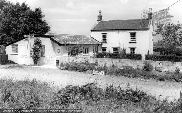 Photo of Woolavington, The Post Office c.1960