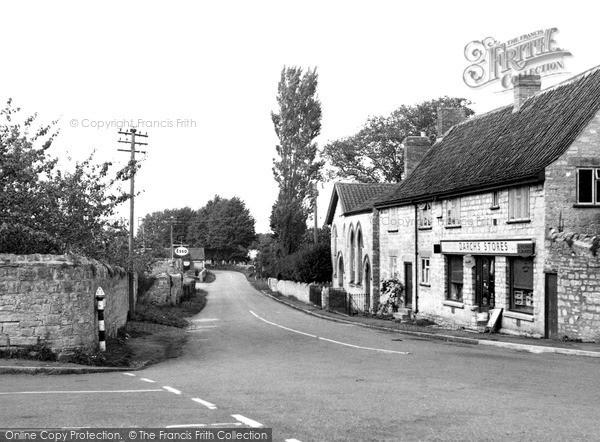 Photo of Woolavington, the Village c1955