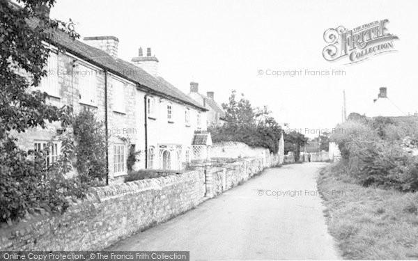 Photo of Woolavington, The Village c.1955